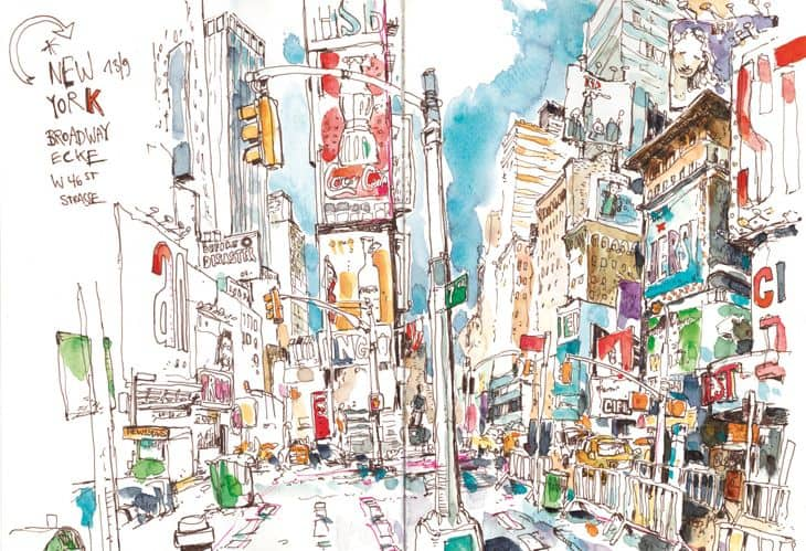 Felix Scheinberger street sketch