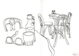 pens sketch vs pencil sketch