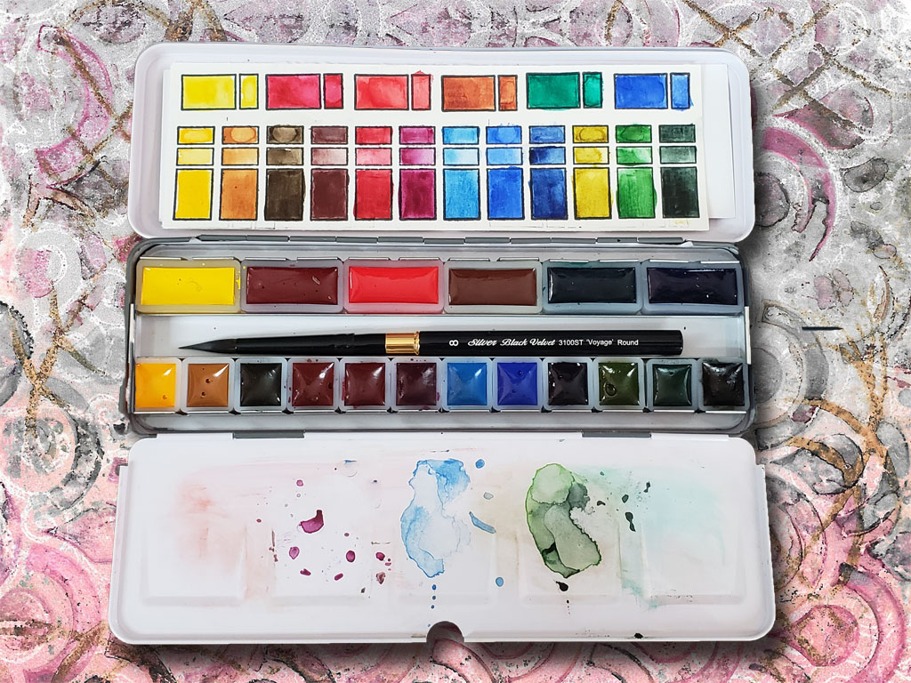 Meeden Watercolor Tin