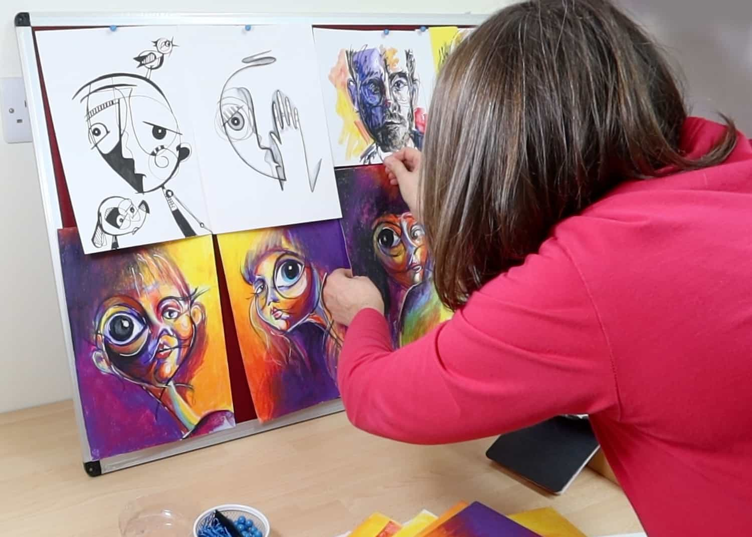 Look at your own art to find your style