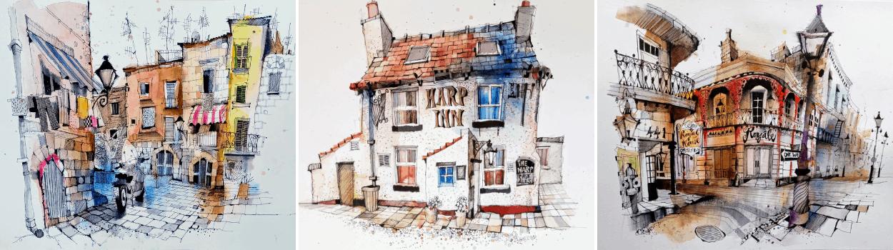 Urban Sketching: Ian Fennelly