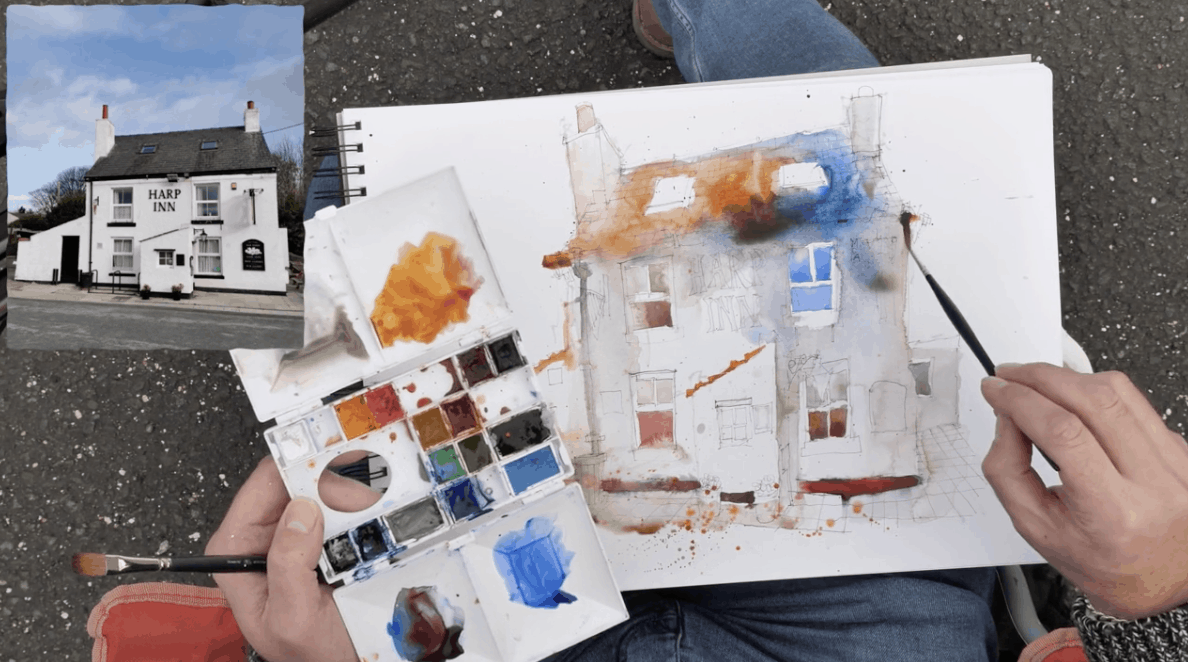 Brushes: Supplies for Urban Sketching