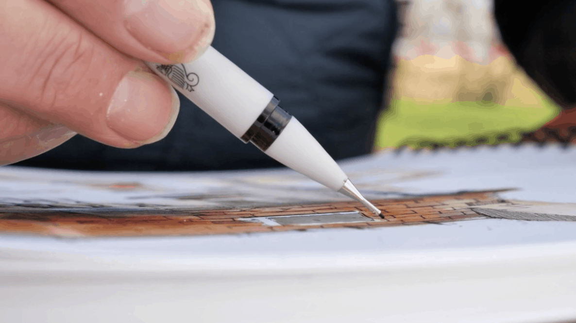 Fineliner Pens: Supplies for Urban Sketching