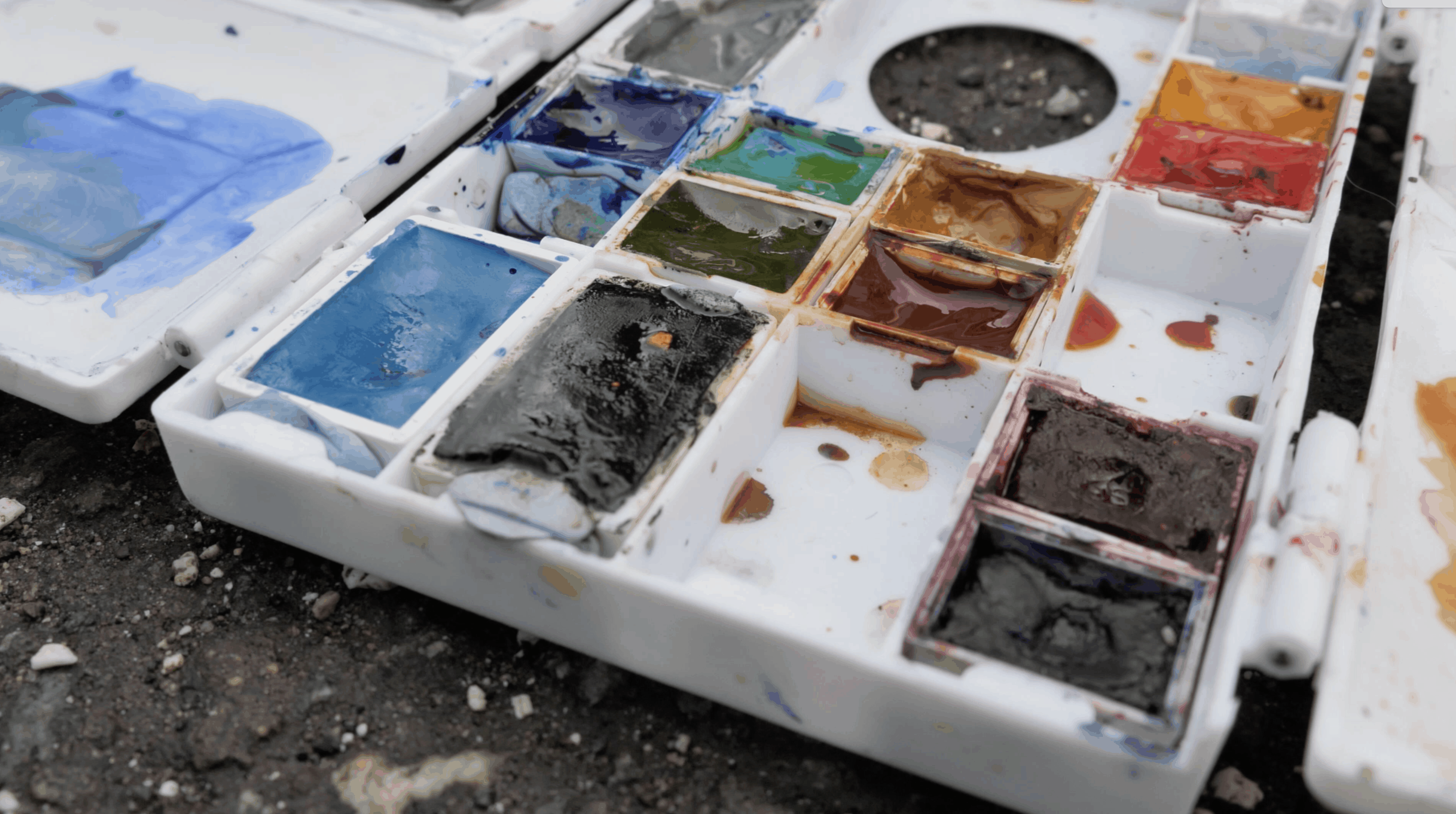Watercolors: Supplies for Urban Sketching