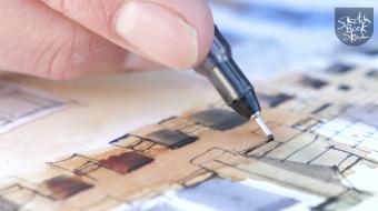 Capturing details in ink