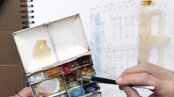 Choosing & mixing watercolors
