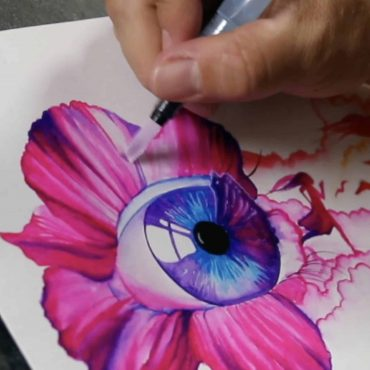 Color and brush techniques